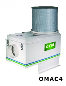Oil Mist Collector with Air Cleaner (For Water Based Coolant)